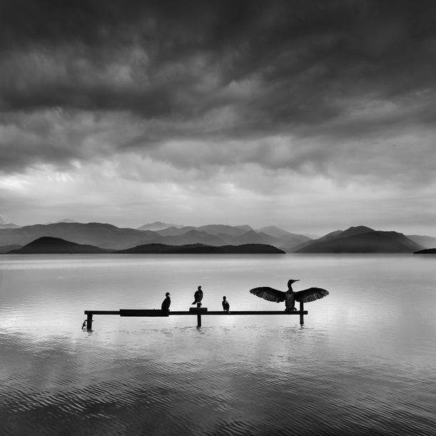 Distant Mountains by George Digalakis