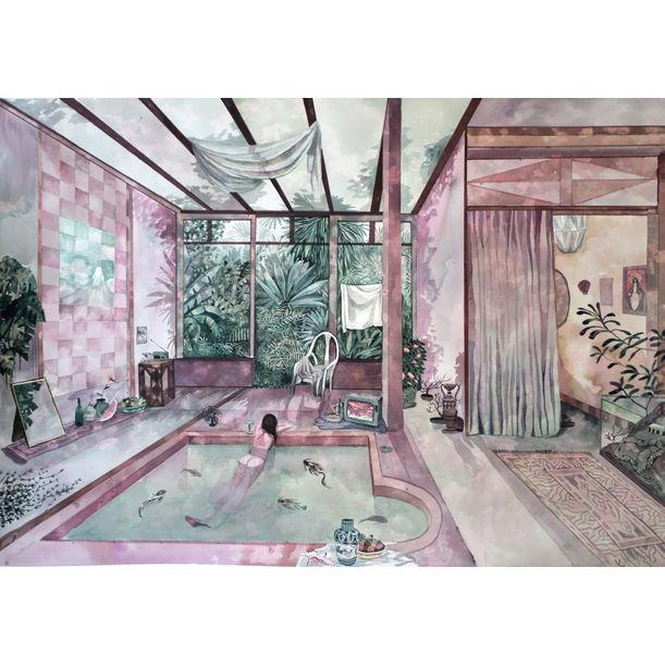 Koi Pool by Pauline Di Valentin
