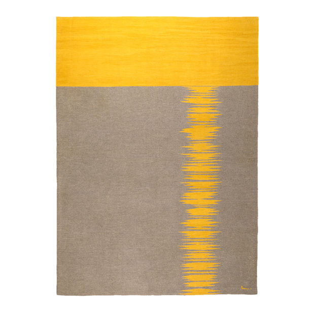 Yakamoz No 6 Kilim Rug by Studio Kali by Fulden Topaloglu