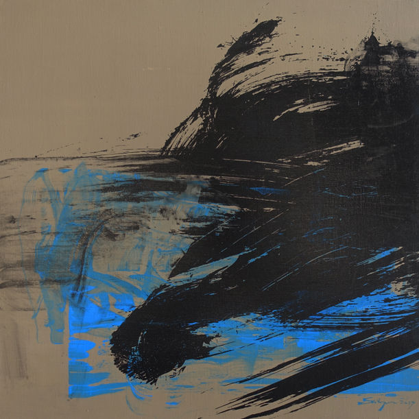 Out of the blue, into the black I by Shih Yun Yeo