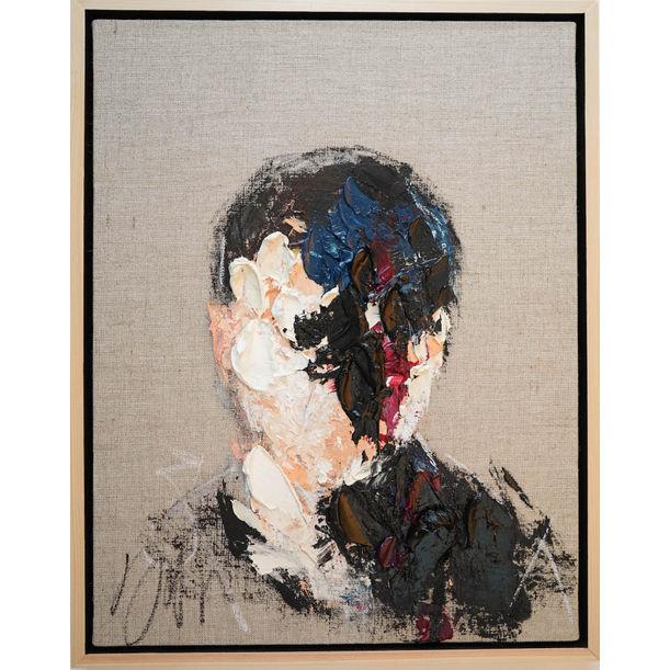 Black Portrait work by Tomoya