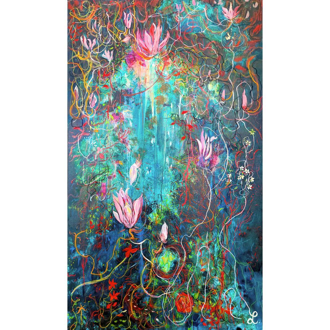 Interstellar cave by Linda Bachammar