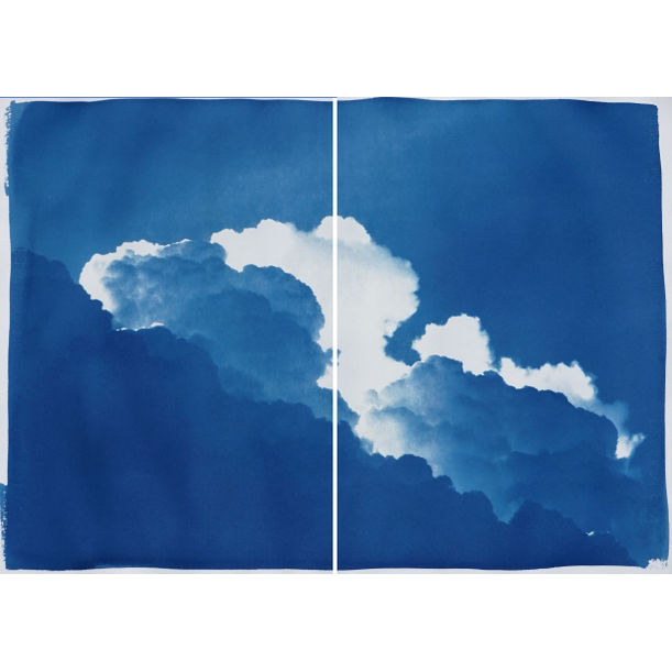 Yves Klein Clouds by Kind of Cyan