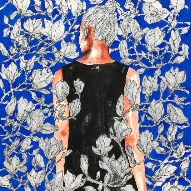 Art Nouveau / the gardens of seplendor no:18 by Erna Ucar