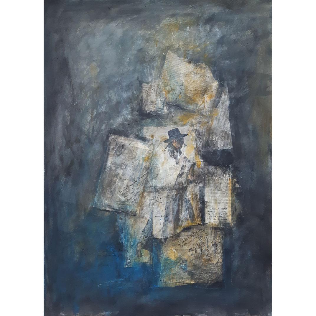 Im falling into dreams by Robert van Bolderick
