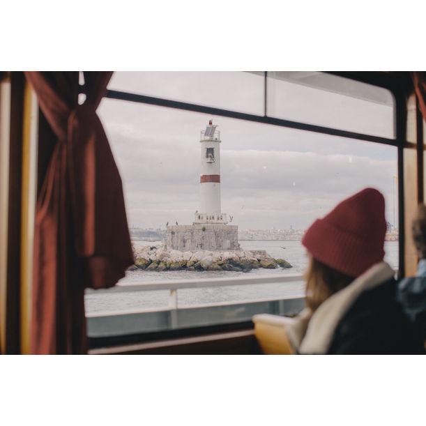 On the ferry by Kira Gyngazova