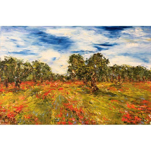Oliviers en Provence by Diana Malivani