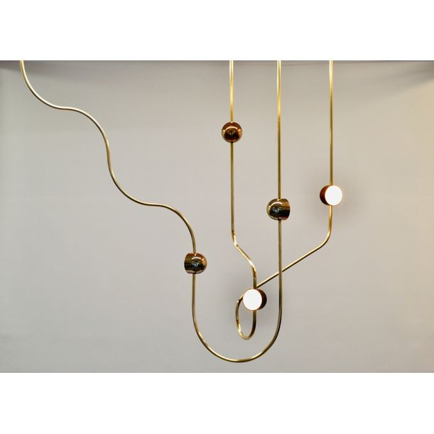 Dia Config. 2 Chandelier by Ovature Studios