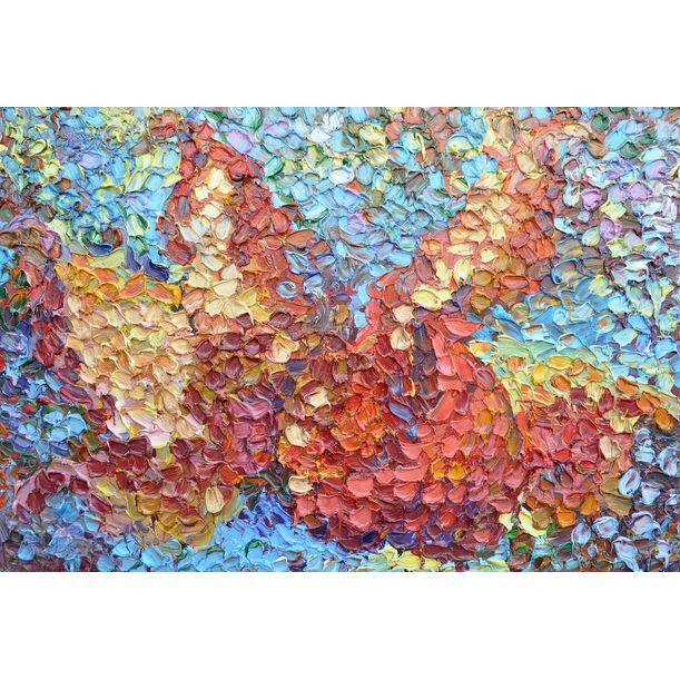 Red Garnet by Olga Bezhina