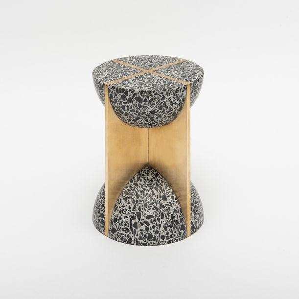 Flint Hourglass by Joyce Wang Studio