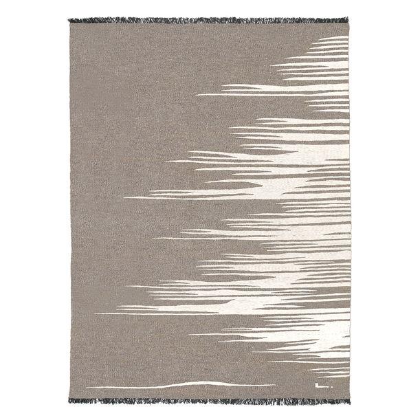 Ege No 3 Kilim Rug (Earthy Gray) by Studio Kali by Fulden Topaloglu