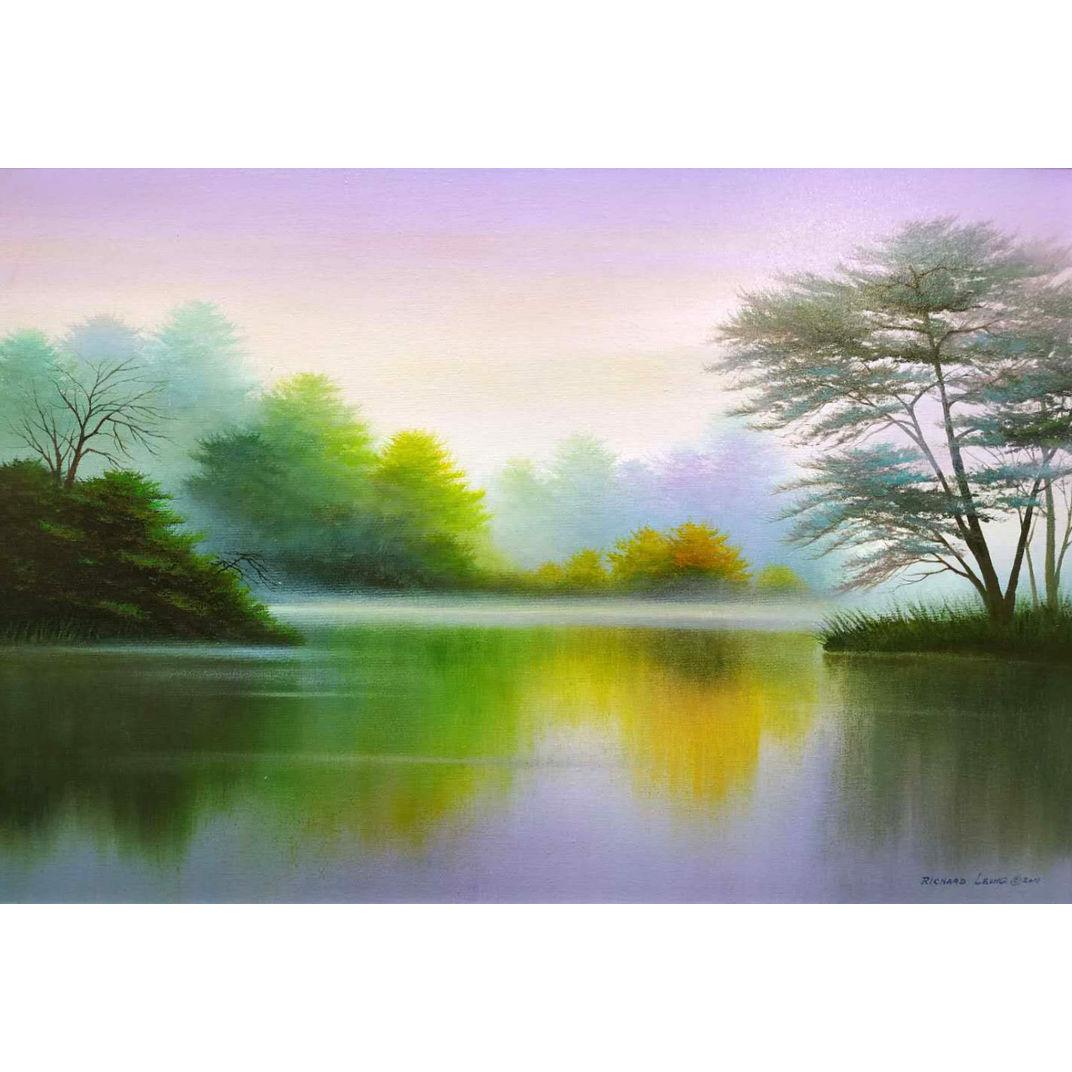Hidden Lake by Richard Leung
