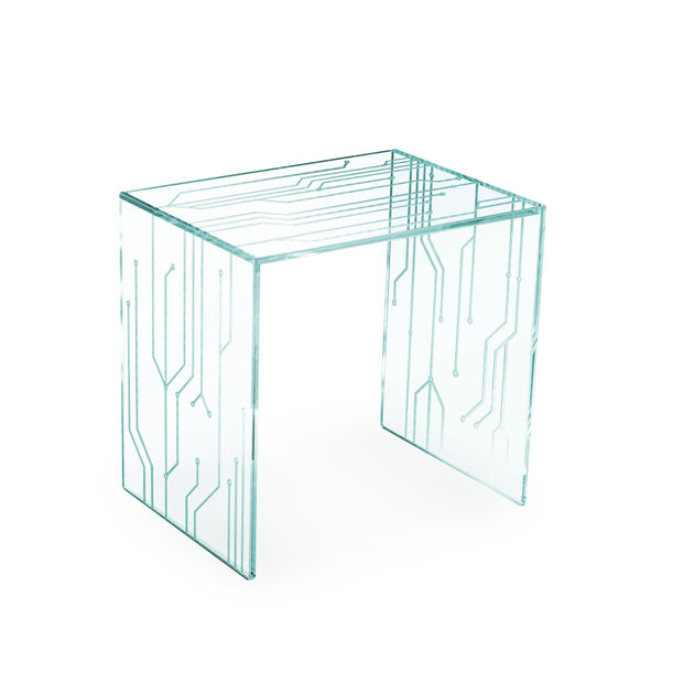 Transistor Side Table by Barberini & Gunnell