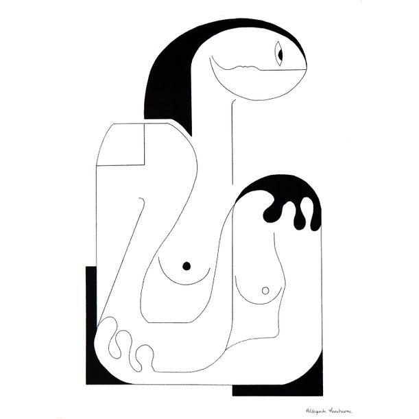 Les contours de la femme by Hildegarde Handsaeme