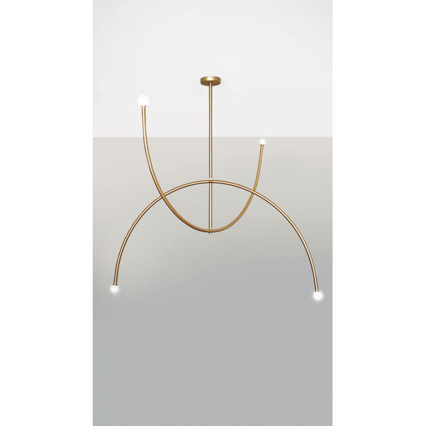 DOUBLE ARCH – PENDANT LIGHT by Square in Circle Studio
