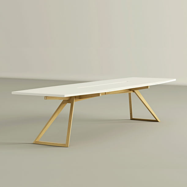 white table - white collection by decoaid