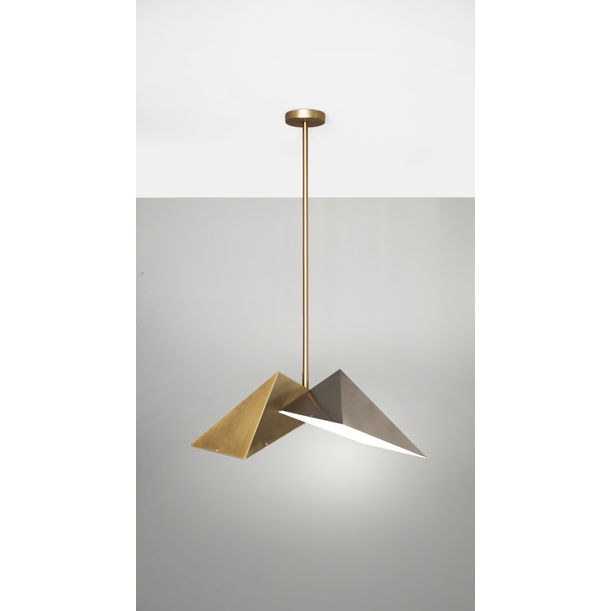 TRIANGULAR PRISM – PENDANT LIGHT by Square in Circle Studio