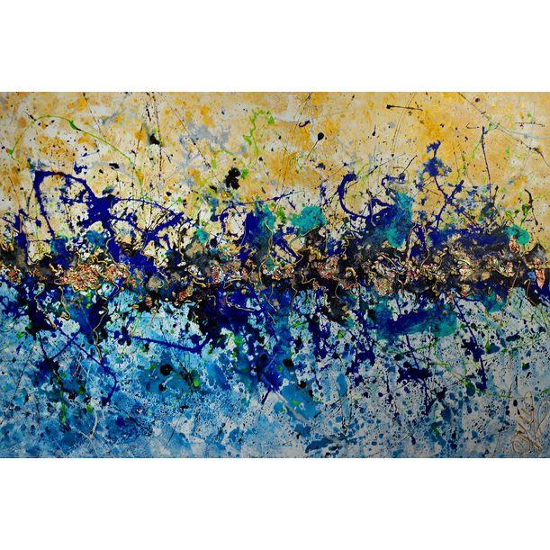 """""""Golden Wave""""  XL by Caroline Vis"""