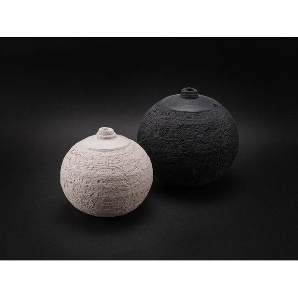 Opposites Attract I.: Whispering Globes by Ildikó Károlyi