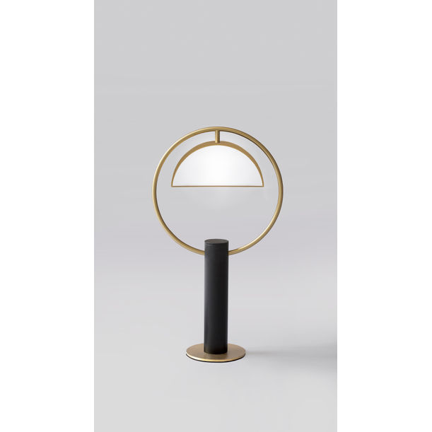 HALF IN CIRCLE – TABLE LAMP by Square in Circle Studio