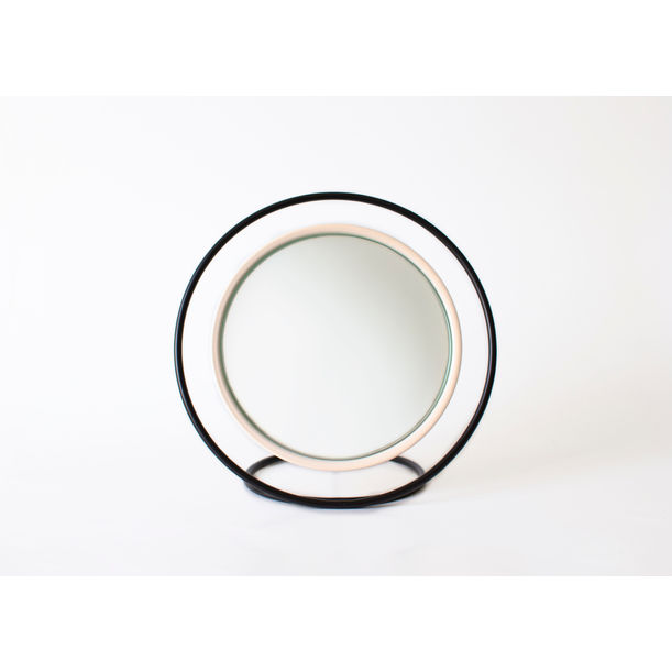 Hollow Table Mirror / Pastel Pink by Kitbox Design