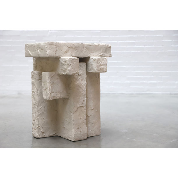 Sand Spackle Side Table by Hayden Richer