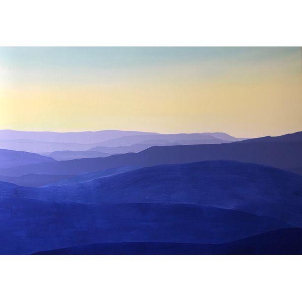 Mountainside, Dawn by Abdullah Khan