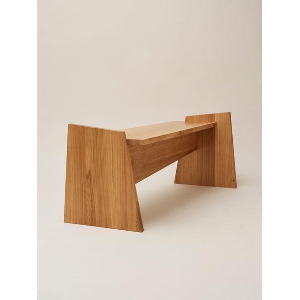 Crooked Bench by Nazara Lazaro
