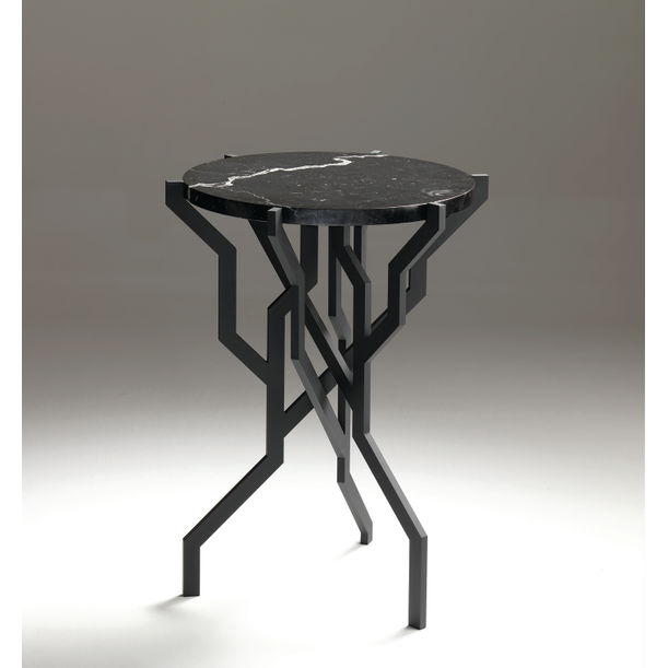 PLANT Table Small Black by Kranen/Gille