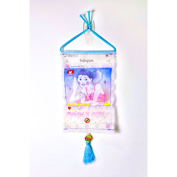 COVID-19 Good Luck Charm / Drug Bag (inside contains Elixirs of Immortality, Luxury Pearl  Flavor) by G.E. Leo