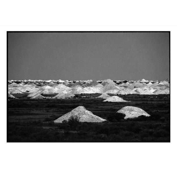 Coober Pedy Opal Mounds #3 by Damian Seagar