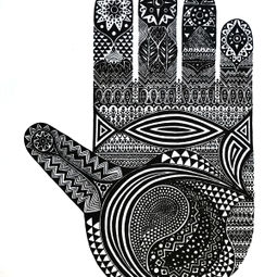 hand by Naomi Kazama