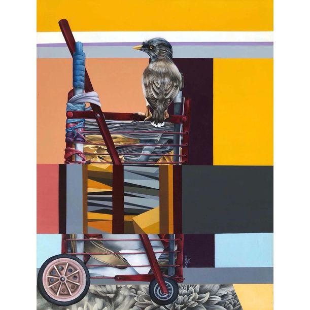 Colors of Apathy 1 by Shen Jiaqi
