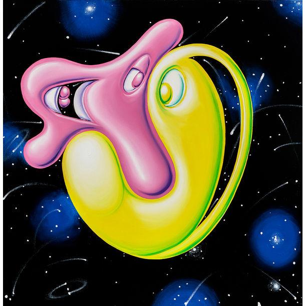 Schnoz N' Blobs by Kenny Scharf