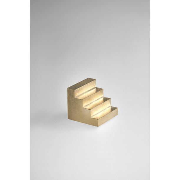 Brass Staircase Paperweight by Kenny Son
