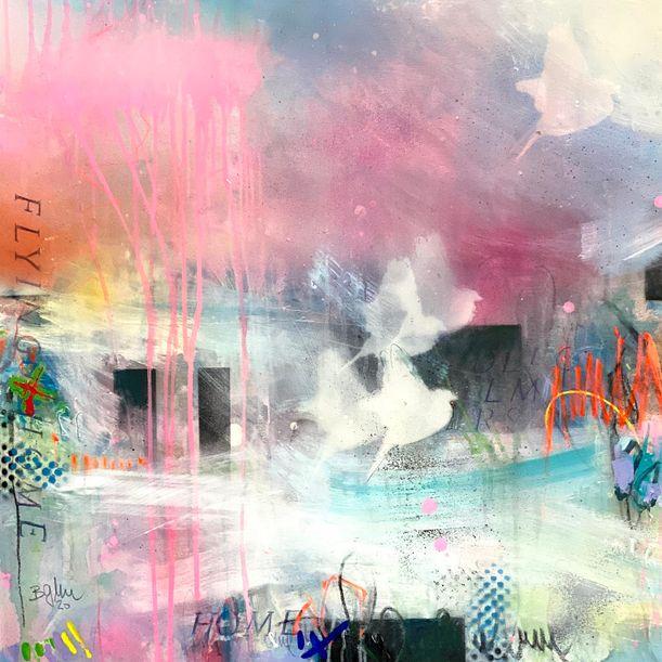 Flying Home IV by Bea Garding Schubert