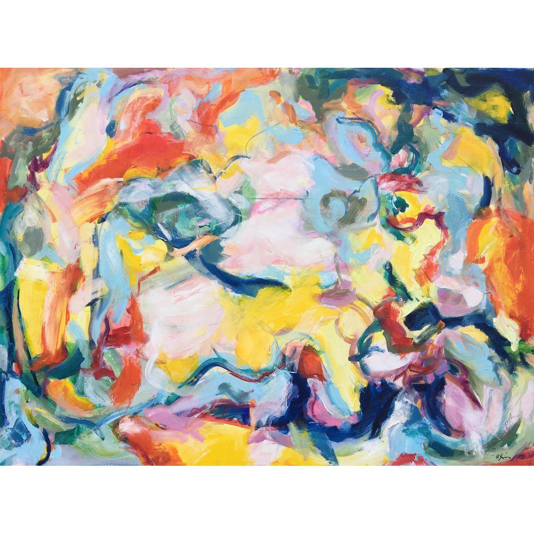 Joy of Life II by Heidi Lanino