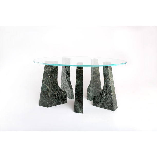 Marble Trama coffee table by Comite de Proyectos