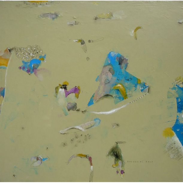 A Blue Veil by Deskhairi