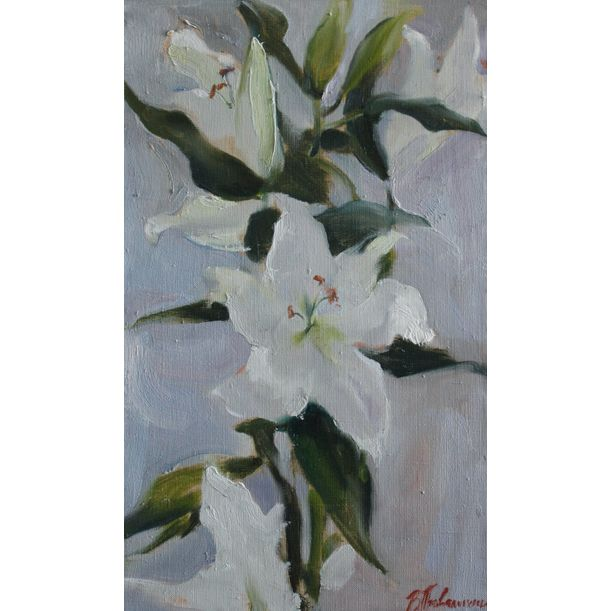 Lilies by Valeria Privalikhina