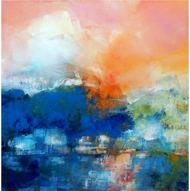 Quiet river by Marianne Quinzin