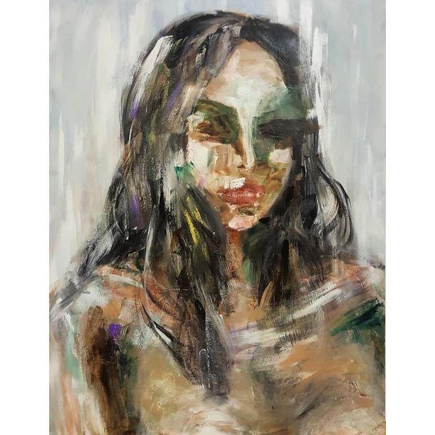Self Portrait 1 by Yunjeong Lee