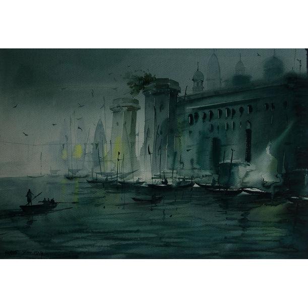 Varanasi  2 by Subir Dey