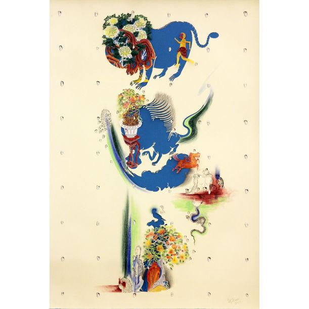 Sky-Blue Garden 天兰色的花园 by Wu Jian'an