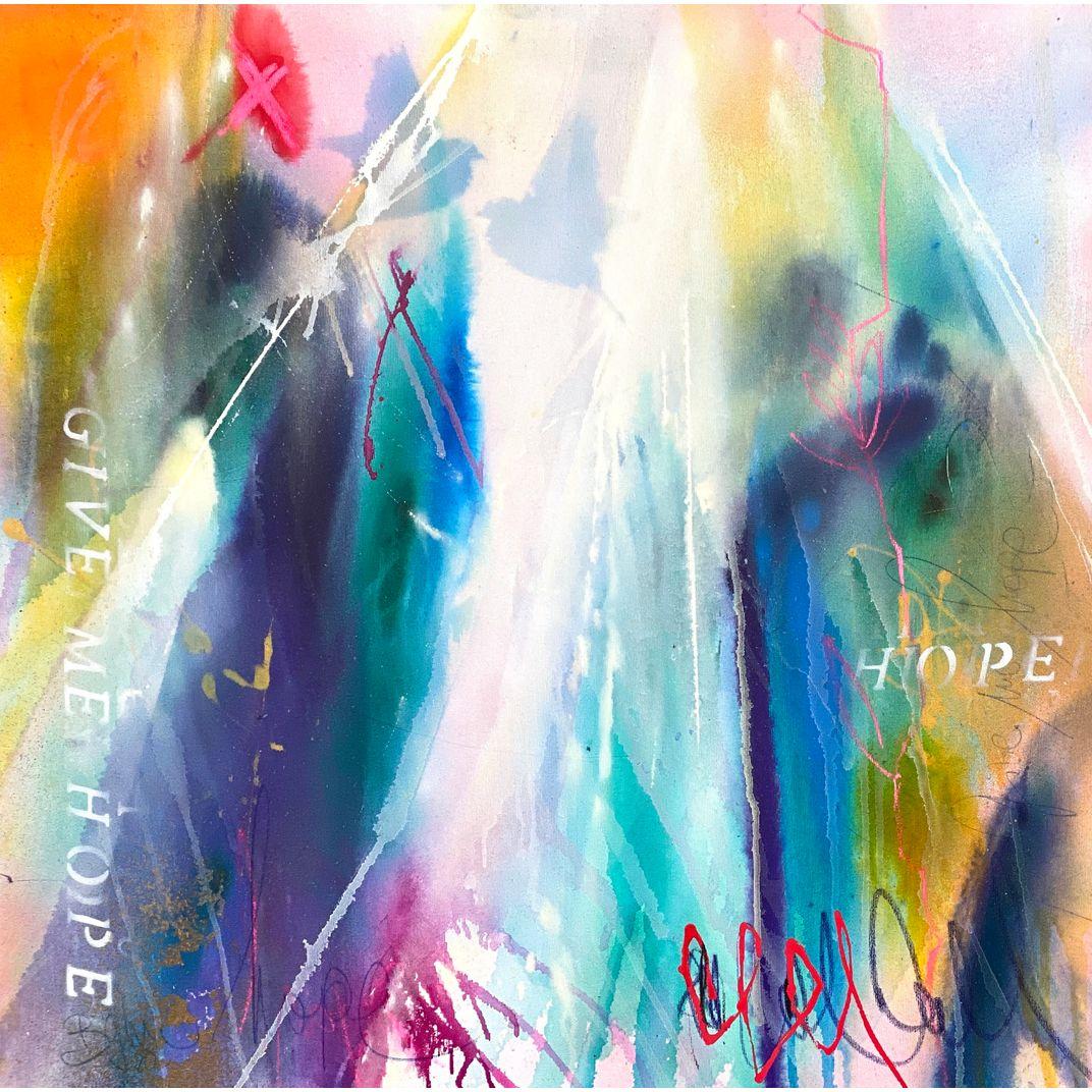 give me hope I by Bea Garding Schubert