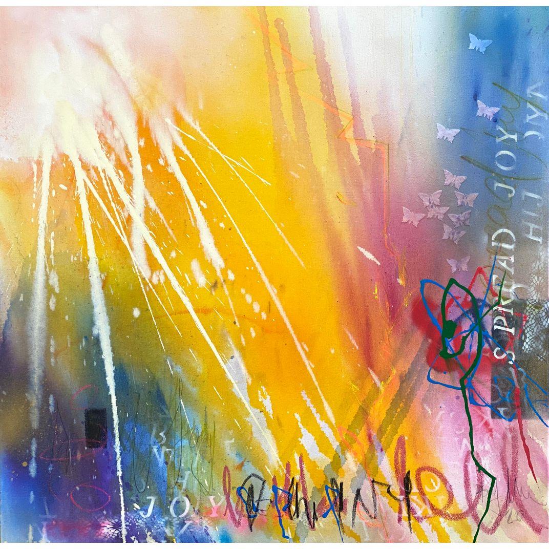 spread joy II by Bea Garding Schubert