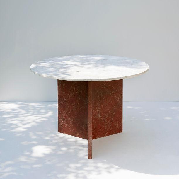 Trofi - Public Round Dinner Table Multi by Public Studio