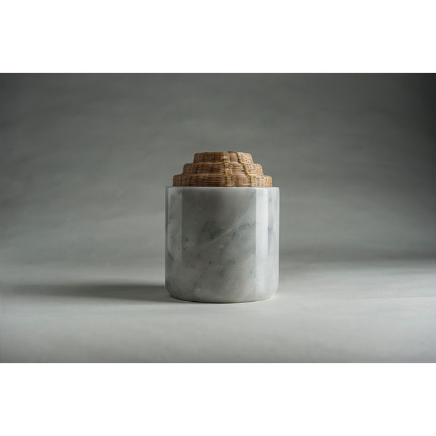 Round Tall Container - White by PATAPiAN