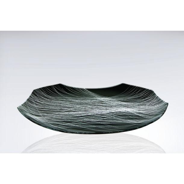 Net Plate - Black by Jitka Skuhravá