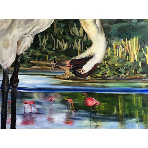 Crane by Clarissa Wong